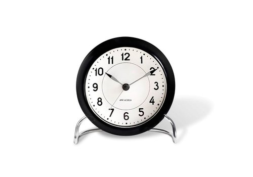 Arne Jacobsen Clocks Station table clock - Arne Jacobsen - dia11cm