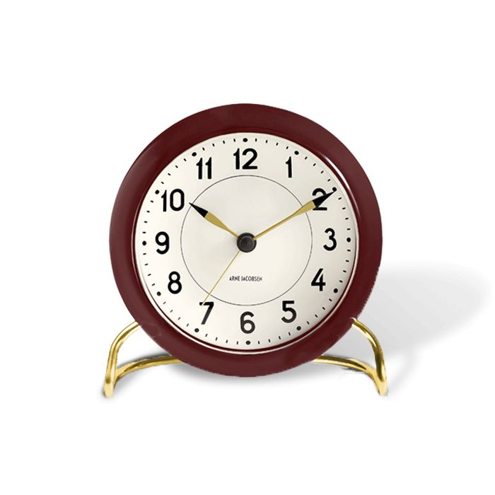 Station table clock-1