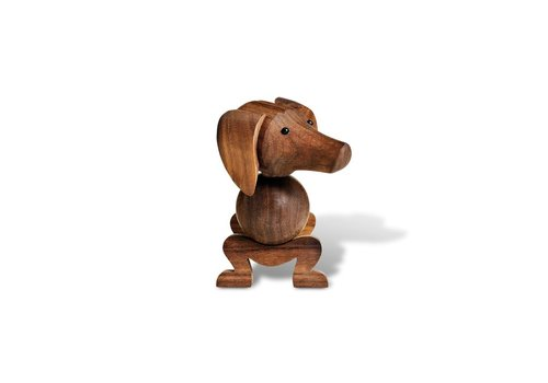 Kay Bojesen Dog - walnut