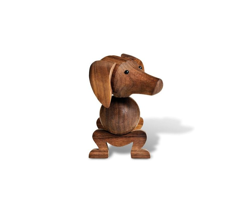 Dog - walnut
