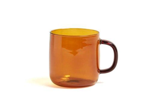HAY Borosilicate - mug amber