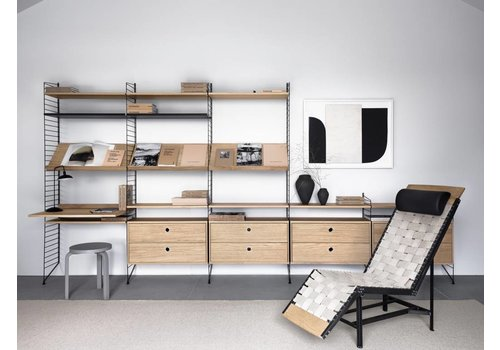 String String shelves (78 x 30 cm) - OAK - 3 pieces