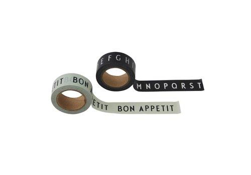 Design Letters Say it with tape ABC - Mint / Bon Appetit
