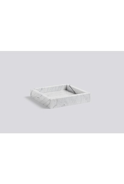 Marble tray 22x22x4.5