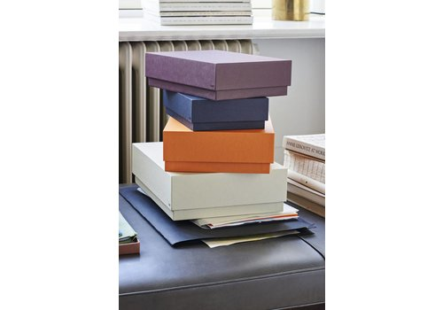 HAY Box Box / Desktop set van 4 - warm zand