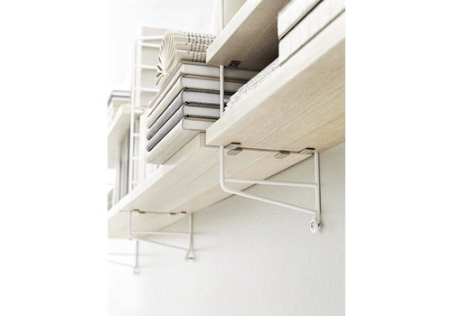 String String shelves (58 x 20 cm) - ASH - 3 pieces