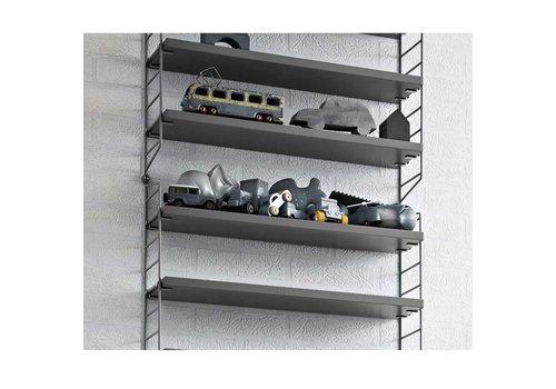 String String shelves (78 x 20 cm) - GREY - 3 pieces