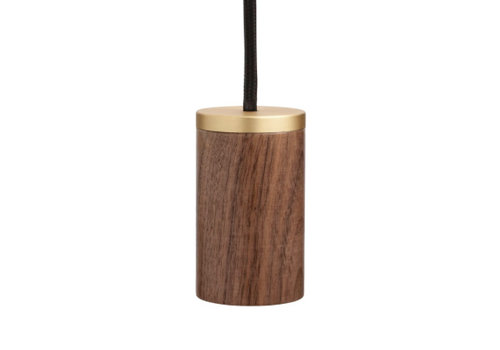 Tala Knuckle Hanglamp (HOUT/MESSING)