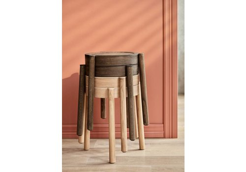 Northern PAL stackable stool
