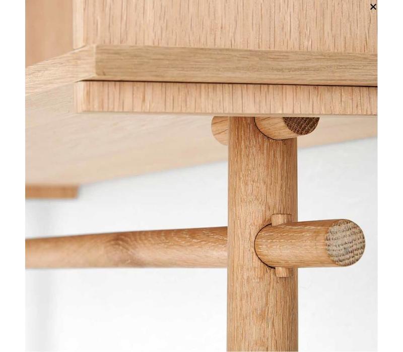 Tojbox - small - wood care treated oak