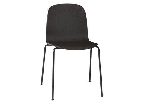 MUUTO VISU chair : tube base black - shell black 16052