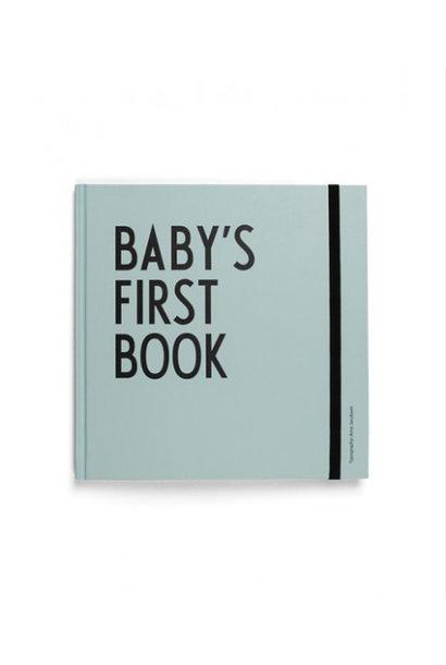 Baby's eerste boek - turquoise