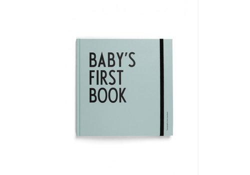 Design Letters Baby's eerste boek - turquoise