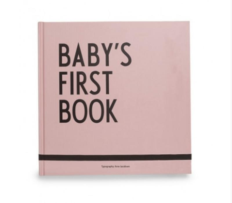 Baby's First Book - Pink