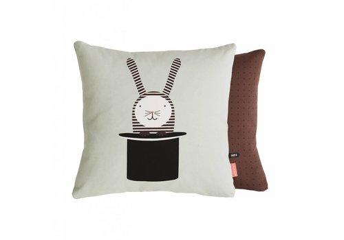 OYOY Cushion - Rabbit in Hat