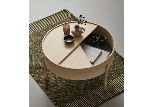 Woud ARC coffee table - Ø66cm x 38cmH