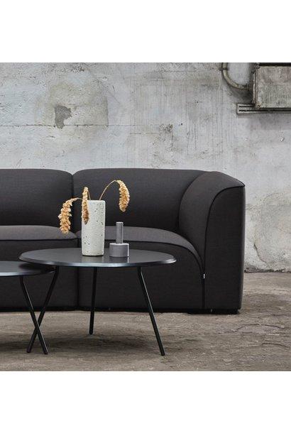 Soround coffee table - black painted oak