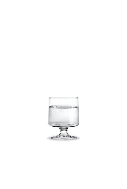 Stub Glas paarse buis - 21cl - set van 4