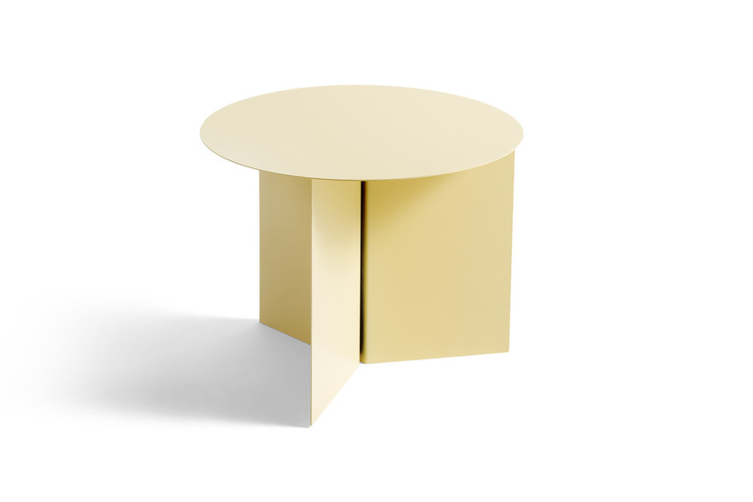 Slit table - Round side table-4