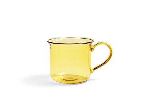 HAY Copy of Borosilicate - mug yellow
