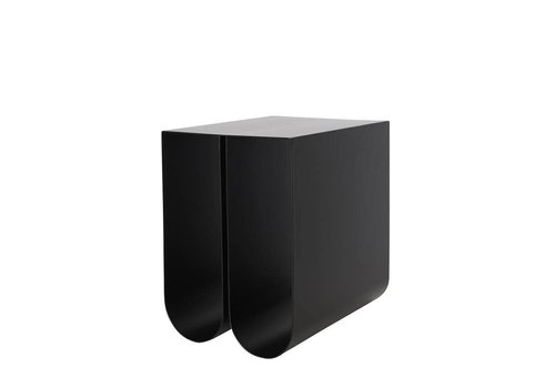 Kristina Dam Studio Curved side table - Black