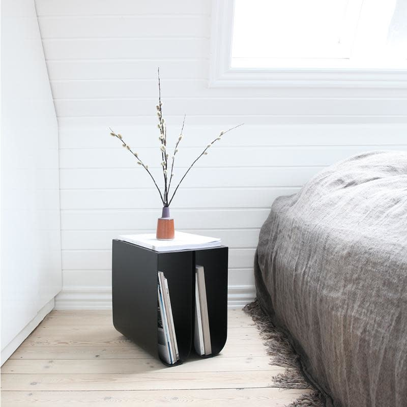 Curved side table-2