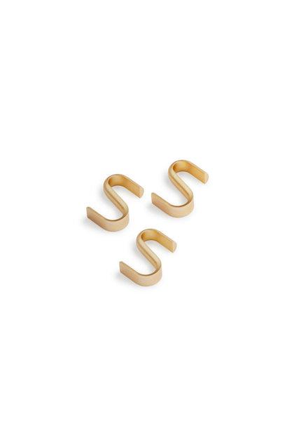 Turn Hanger 3pcs - Messing