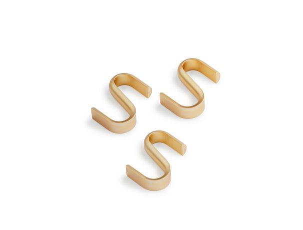 Turn Hanger 3pcs - Messing-1