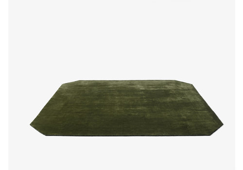 &Tradition The Moor Rug - AP6 - Green Pine - 240 x 240 cm