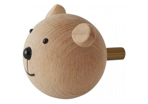 OYOY Kapstok Mini Hook - Bear