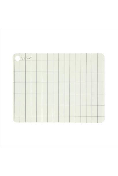Placemat- Offwhite - Kukei - 2 stuks
