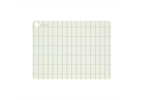 OYOY Placemat- Offwhite - Kukei - 2 stuks