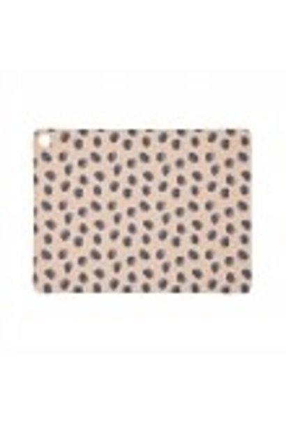 Placemat - Camel - Leopard Dots - 2 stuks