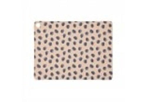 OYOY Placemat - Camel - Leopard Dots - 2 stuks