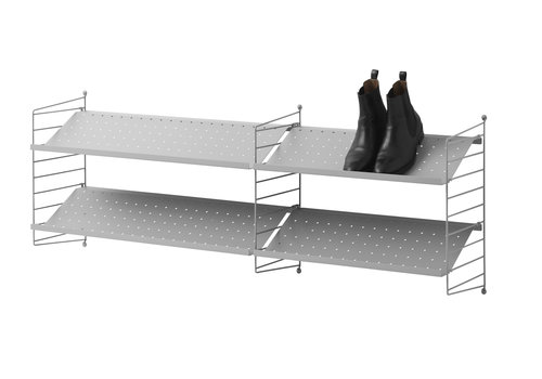 String Metal shoe shelf 78x30cm