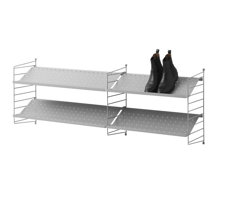 Metal shoe shelf 78x30cm