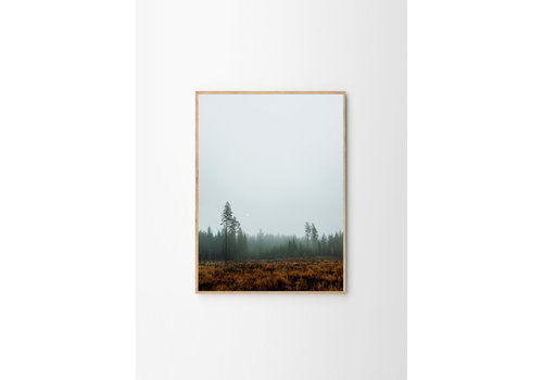 The Poster Club Skog poster - Fine Little Day - 70x100cm - frame natural solid oak