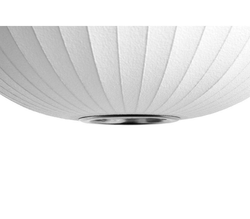 Nelson Ball Bubble Pendant - L - Off White