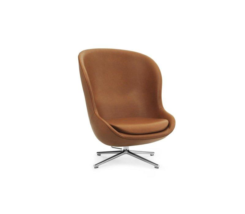Hyg - Lounge Chair High - Alu Swivel en Tilt