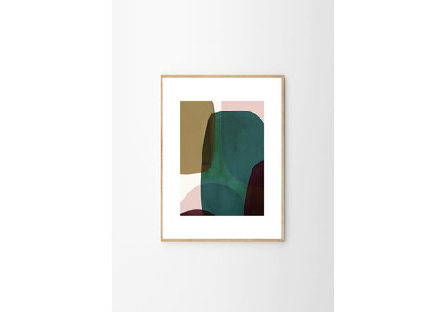 The Poster Club NO 10 - Berit Mogensen Lopez - 50x70cm - frame natural solid oak
