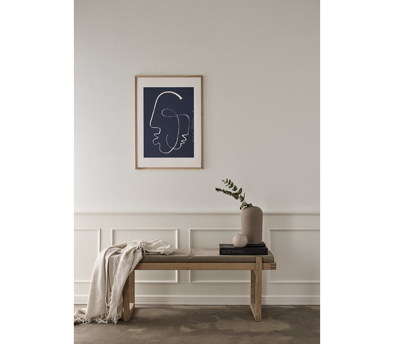 One Soul (limited edition! - LouLou Avenue - 50x70cm - frame natural solid oak