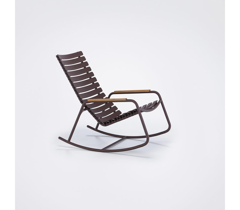 Clips rocking chair - with bamboo armrest