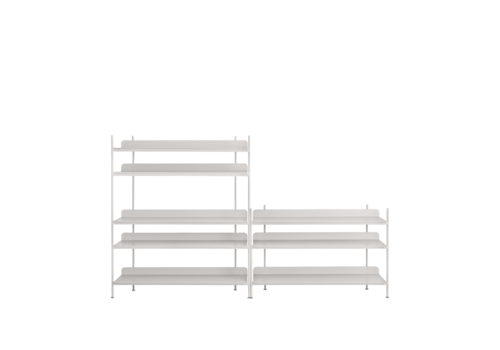 MUUTO Compile Shelving System Config. 3 - Light grey (50061)