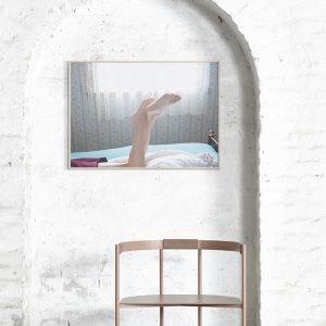 Lazy Sunday poster + frame - 50x70 cm-2