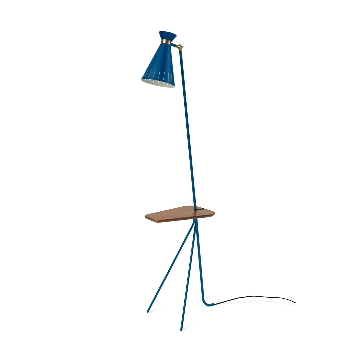 Cone Floor Lamp with table-1