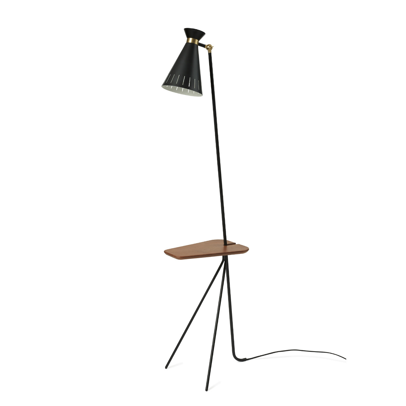 Cone Floor Lamp with table-3