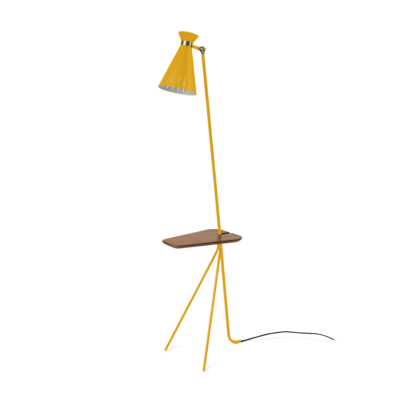Cone Floor Lamp with table-4