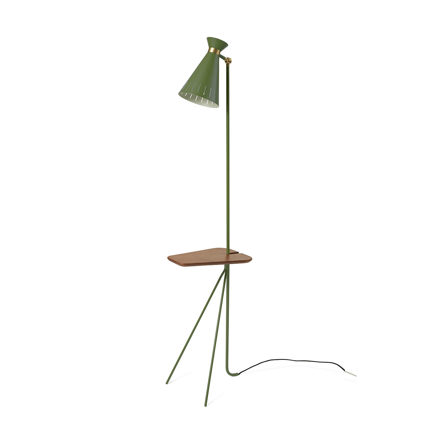 Cone Floor Lamp with table-5