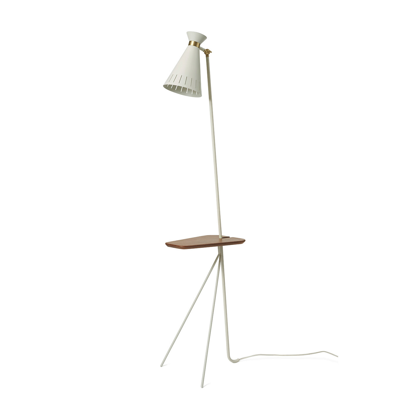 Cone Floor Lamp with table-6