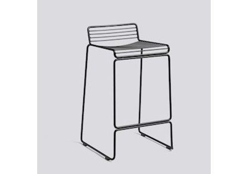 HAY Hee bar stool H 65cm Black
